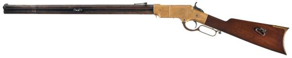 An 1860 Henry rifle