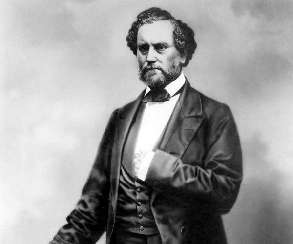 Photo of Samuel Colt. (via highcaliberhistory.com)