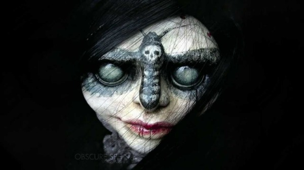 Cover art for the Void Mother album by Obscure Sphinx. This is a Horka doll, made by an artist in Poland: http://www.horkadolls.com.