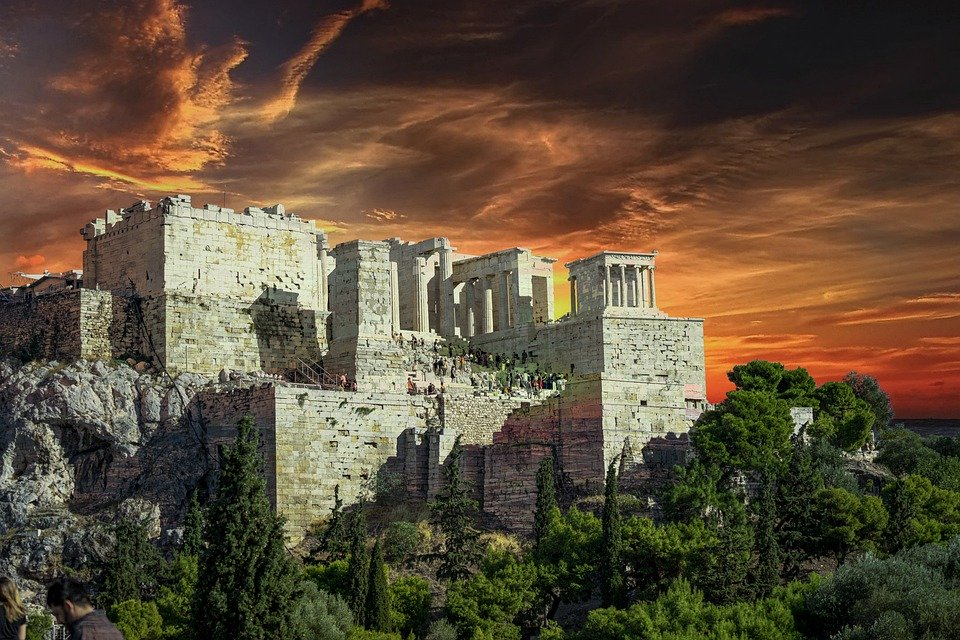 The Acropolis, by Anestiev on Pixabay.